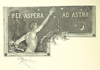 <i>Per aspera ad astra</i> Latin phrase