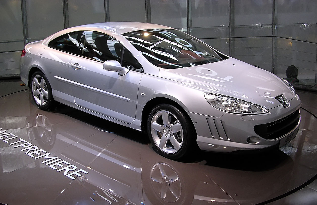 file peugeot 407 coup iaa 2005 jpg wikimedia commons. Black Bedroom Furniture Sets. Home Design Ideas