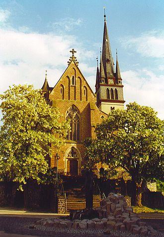 Beselich - Catholic parish church St. Ägidus at Obertiefenbach