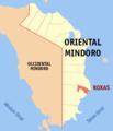 Ph locator oriental mindoro roxas.png