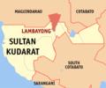 Ph locator sultan kudarat lambayong.png