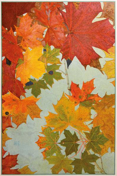 File:Philippe Robert Feuilles d'automne Ahorn.jpg