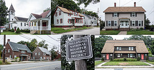Phillipsdale Historic District - Image: Phillipsdale National Register Historic District