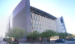 Phoenix Central Library - North East Corner - 2008-12-27.jpg