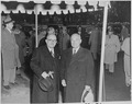 Photograph of President Truman and President Vincent Auriol of France, during Auriol's visit to Washington. - NARA - 200459.tif