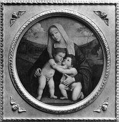 Madonna and Child and St. John the Baptist