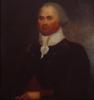 Ile Saint-Jean Campaign - Pierre Douville (1745–1794) - only known image of Ile St.-Jean resident prior to Expulsion of the Acadians. Douville was age 12 when deported. Portrait was made c. 1790.