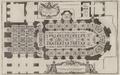 Pierre Lepautre - Plan du rez-de-chaussée de la chapelle royale de Versailles, circa 1725.png