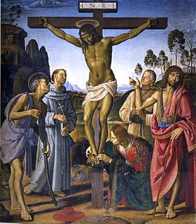 Image illustrative de l'article La Crucifixion (Le Pérugin et Signorelli)