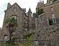Pignon et façade est de la villa Bellevue (Le Mont-Saint-Michel, Manche, France).jpg