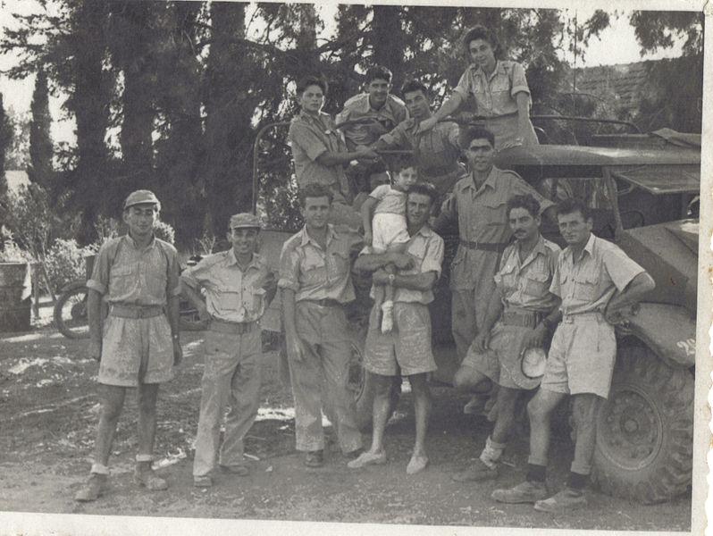 קבוצת חיילי גולני במלחמת העצמאות