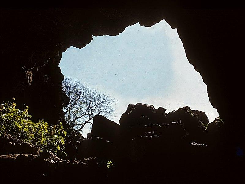 המערה באתר הבניאס