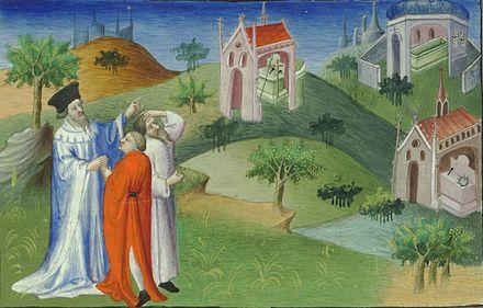 Pilgrims in  Constantinople  Bn F  Fr2810 fol144