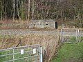 Pillbox overlooking the railway and Kennet and Avon Canal, Kintbury 02.jpg