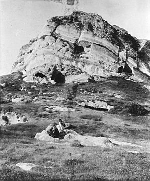 Corduene - Castle of Pinaca (or Finik), northwest of Cizre
