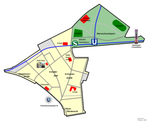 schanzenviertel hamburg karte Hamburg Sternschanze – Wikipedia schanzenviertel hamburg karte