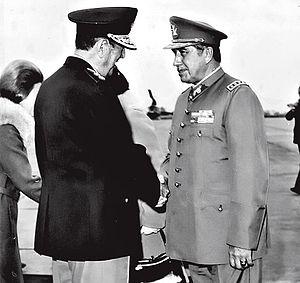 Pinochet-Peron 1974