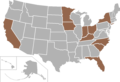 Pioneer Football League map.png