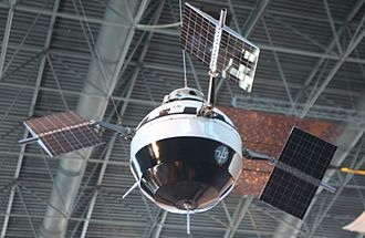 Charles F. Conrad - Pioneer V satellite with electronic circuits tested in Thermotron chambers