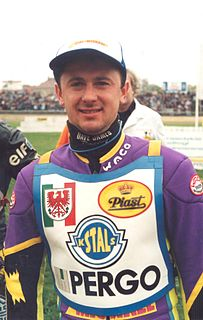 Piotr Świst Polish speedway rider