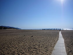 Beach of Piscinas