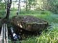 Plakanais akmens, Mākoņkalna pagasts, Rēzeknes novads, Latvia - panoramio.jpg