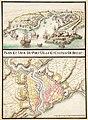 Plan et vue du port ville et chateau de Brest ca 1700.jpg