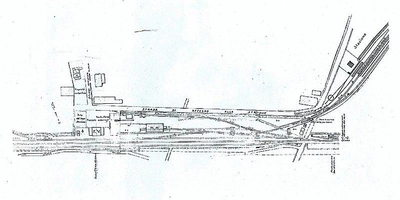 File planimetria della stazione di wikimedia for Google planimetria