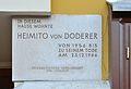 Plaque Heimito von Doderer, Währinger Straße 50.jpg