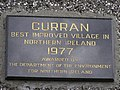 Plaque at Curran - geograph.org.uk - 569576.jpg