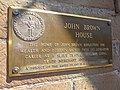 Plaque outside John Brown House - Showing Alterations to Reflect His Slave-Trading - Providence - RI - USA (6953601712).jpg
