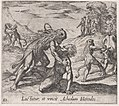 Plate 82- Hercules and Acheloüs (Luctatur, et vincit Acheolum Hercules), from Ovid's 'Metamorphoses' MET DP866523.jpg