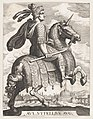 Plate 9- Emperor Vitellus on Horseback, from 'The First Twelve Roman Caesars' after Tempesta MET DP857130.jpg
