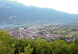 Panorama of Plav