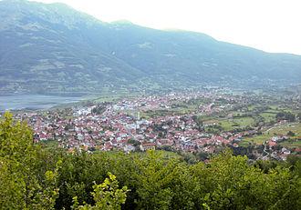 Plav, Montenegro - Panorama of Plav