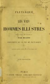 Plutarque - Vies, traduction Ricard, 1862, tome 3.djvu