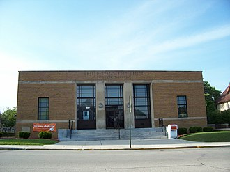 Plymouth, Wisconsin - Plymouth Post Office, a registered historic place