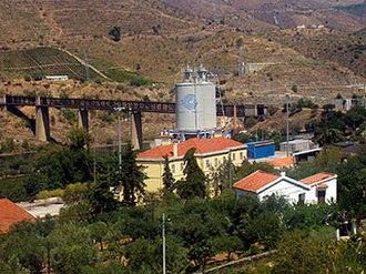 Pocinho - The railway bridge at Pocinho