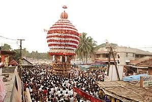 Polali Rajarajeshwari Temple - Temple car festival