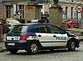 Police car in Katowice (Kattowitz).jpg