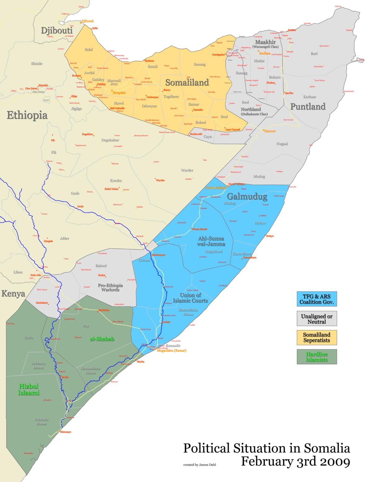 Somali Civil War 20062009 Wikipedia