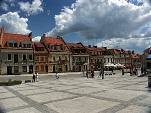 Świętokrzyskie Voivodeship - Sandomierz is one of the main tourist destinations in the Świętokrzyskie Voivodeship