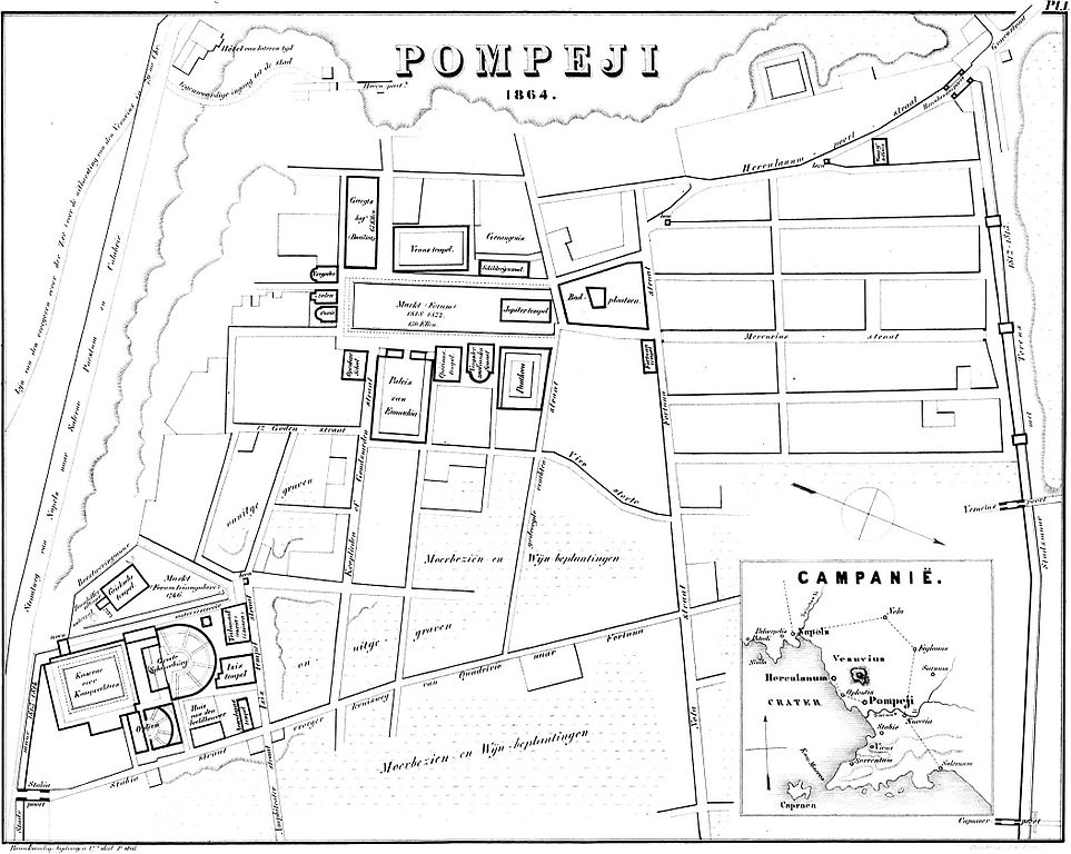 Filepompeji 1864 Plan