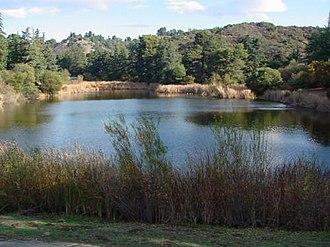 Franklin Canyon Park - Image: Pond Fran Canyon