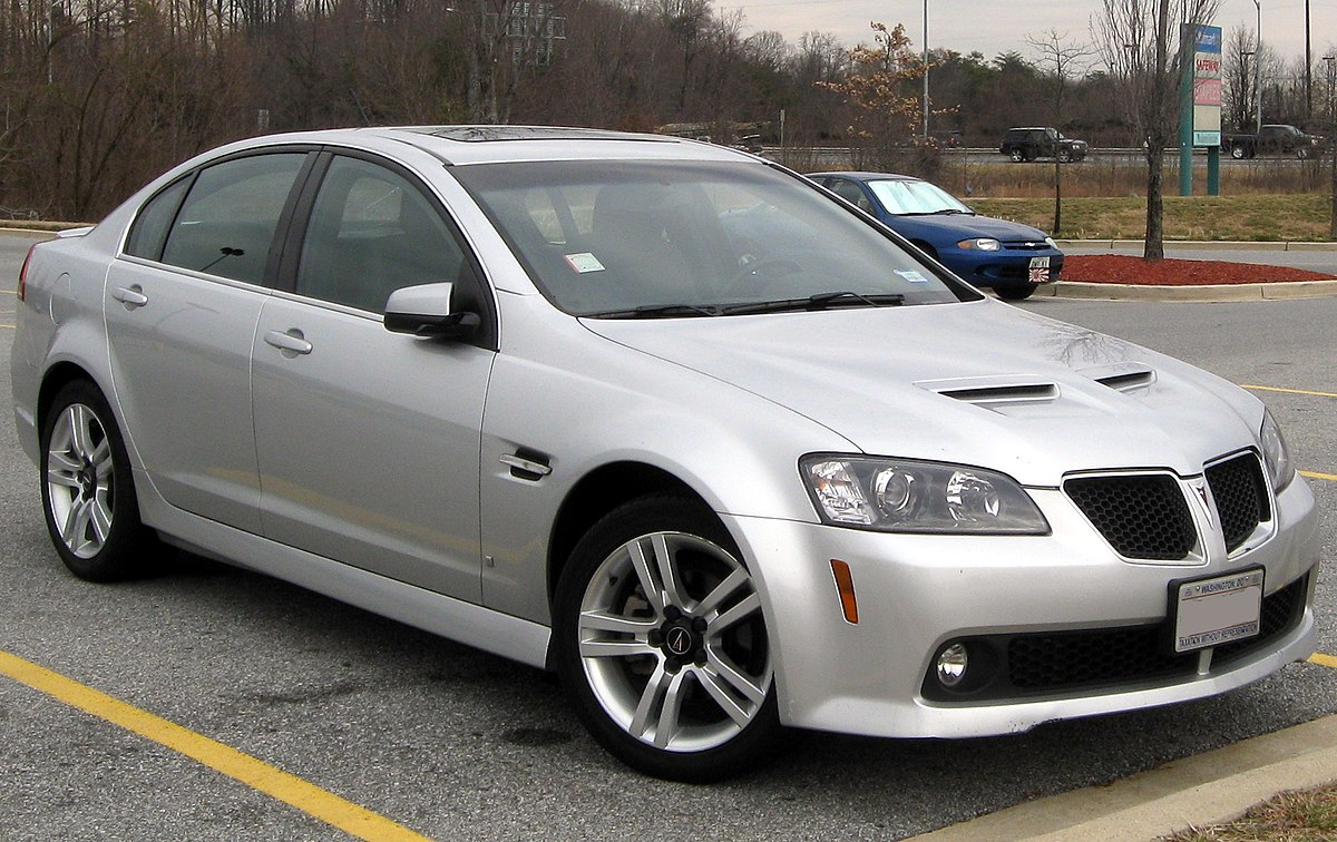 Pontiac g8 wikipedia sciox Image collections