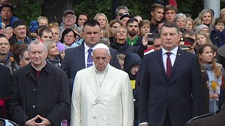 Pope Franciss visit to the Baltic states