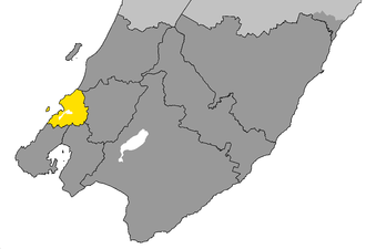 Porirua - Image: Porirua City within Wellington Region