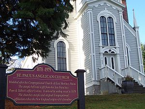 Port Gamble, Washington - St. Paul's church, Port Gamble, Washington
