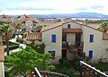 Port Leucate (Aude), Club Oasis, inner courtyard 2.JPG
