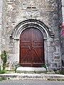 Porte de l'église Saint-Martin à Préveranges.jpg